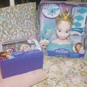 2 of DISNEY FROZEN and toothbrush holder